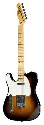Гитара для левшей Fender Std Telecaster LH MN BSB телекастер fender 72 telecaster custom mn bk