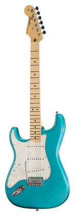 Гитара для левшей Fender Standard Strat MN LPB LH телекастер fender standard telecaster mn lpb