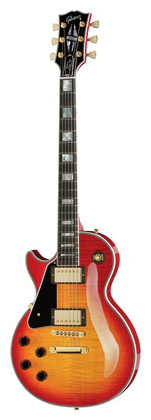 Гитара для левшей Gibson Les Paul Custom HCS Lefthand электрогитара с одним вырезом epiphone les paul custom pro awh