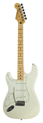 Гитара для левшей Fender Standard Strat MN AWT LH стратокастер fender standard strat mn lpb