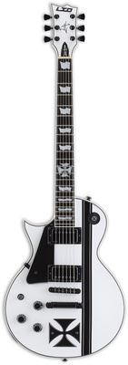 Гитара для левшей ESP LTD Iron Cross SW LH стратокастер esp ltd sn 200fr maple chm