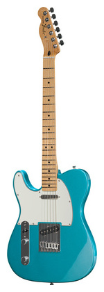 Гитара для левшей Fender Std Telecaster LH MN LPB телекастер fender 72 telecaster custom mn bk