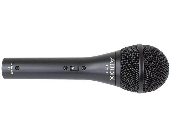 Динамический микрофон AUDIX OM3-S универсальный инструментальный микрофон audix fireball