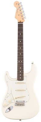 купить Гитара для левшей Fender AM Pro Strat LH RW OWT по цене 160695 рублей
