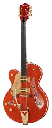 Гитара для левшей Gretsch G6120T-LH Nashville OS полуакустическая гитара gretsch brian setzer g6120 sslvo