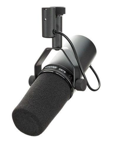Микрофон с большой мембраной для студии Shure SM7B стерео микрофон shure vp88