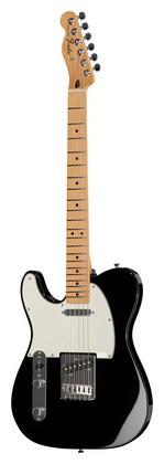 Гитара для левшей Fender Std Telecaster LH MN BK телекастер fender 72 telecaster custom mn bk