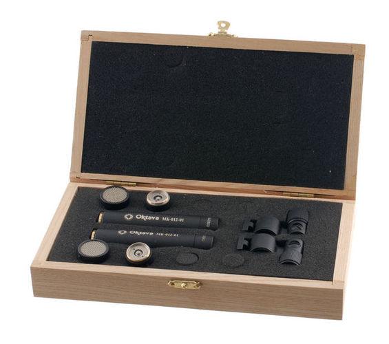 Микрофон с маленькой мембраной Октава МК-012-01 Стереопара Черный авиамодели к двигателю мк 17