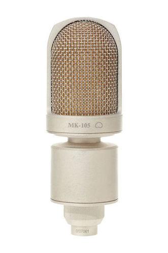 Микрофон с большой мембраной для студии Октава МК-105 Никель авиамодели к двигателю мк 17