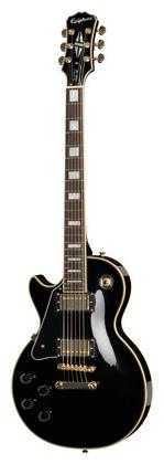 Гитара для левшей Epiphone Les Paul Custom Pro EB LH электрогитары gibson custom les paul custom silverburst