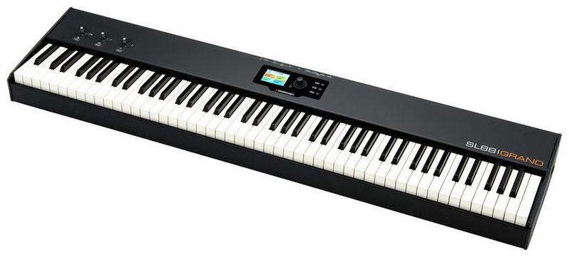 MIDI-клавиатура 88 клавиш Studiologic SL88 Grand midi клавиатура 88 клавиш miditech i2 stage 88