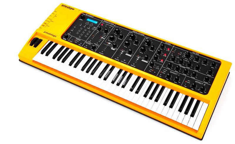 Синтезатор Studiologic Sledge 2 синтезатор casio wk 7600 76 невзвешенная полноразмерные 64 черный