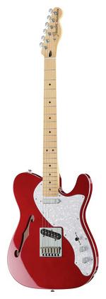 Телекастер Fender Deluxe Tele Thinline CAR телекастер fender am elite tele thinline mn nat