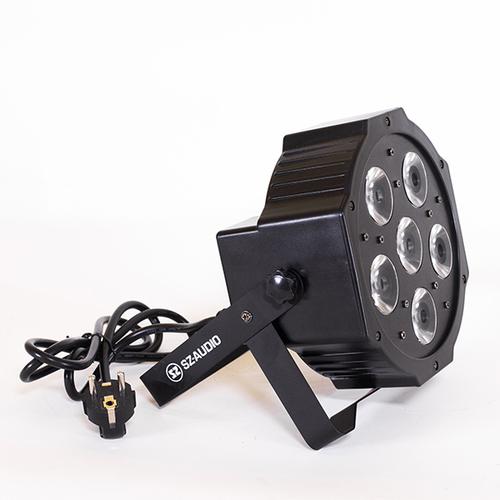 Прожектор LED  PAR 56 SZ-AUDIO 6X8W Beam LED PAR многолучевой прибор sz audio ms mb56
