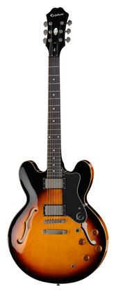 Полуакустическая гитара Epiphone The Dot VS epiphone dot vintage sunburst
