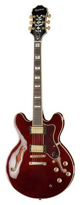 Полуакустическая гитара Epiphone Sheraton-II Pro WR epiphone pro 1 plus acoustic natural