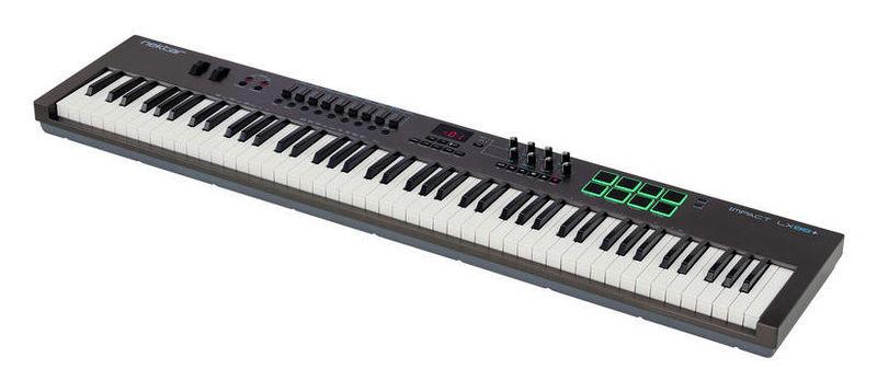 MIDI-клавиатура 88 клавиш Nektar Impact LX88+ midi клавиатура 88 клавиш miditech i2 stage 88