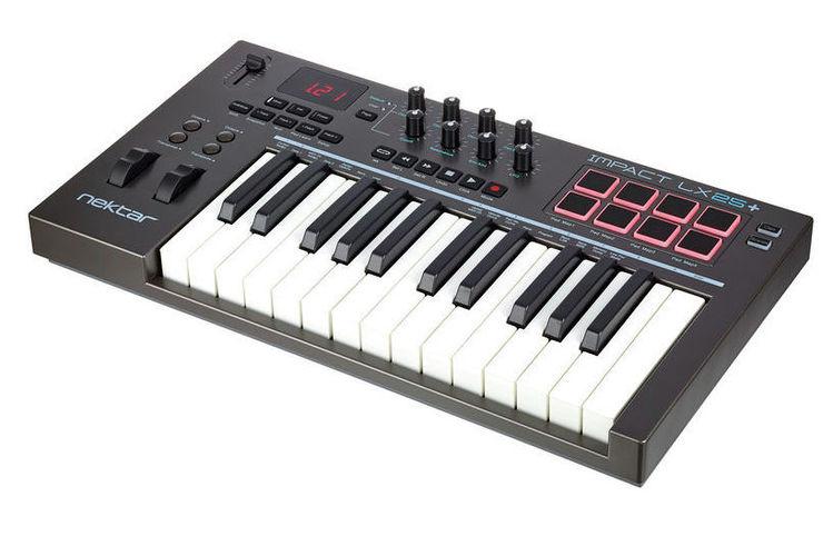 MIDI-клавиатура 25 клавиш Nektar Impact LX25+ цена