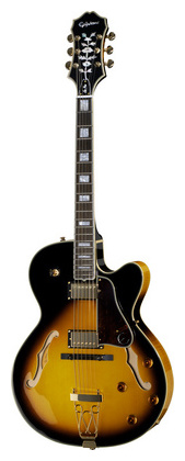 Джазовая гитара Epiphone Emperor-II Pro Joe Pass 16 VS epiphone pro 1 plus acoustic natural