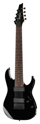 Электрогитара 8-струнная Ibanez RG8-BK ibanez gst62 bk guitar strap