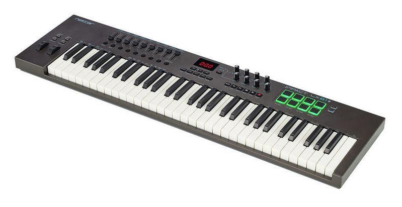 MIDI-клавиатура 61 клавиша Nektar Impact LX61+ midi клавиатура 61 клавиша miditech i2 61 black edition