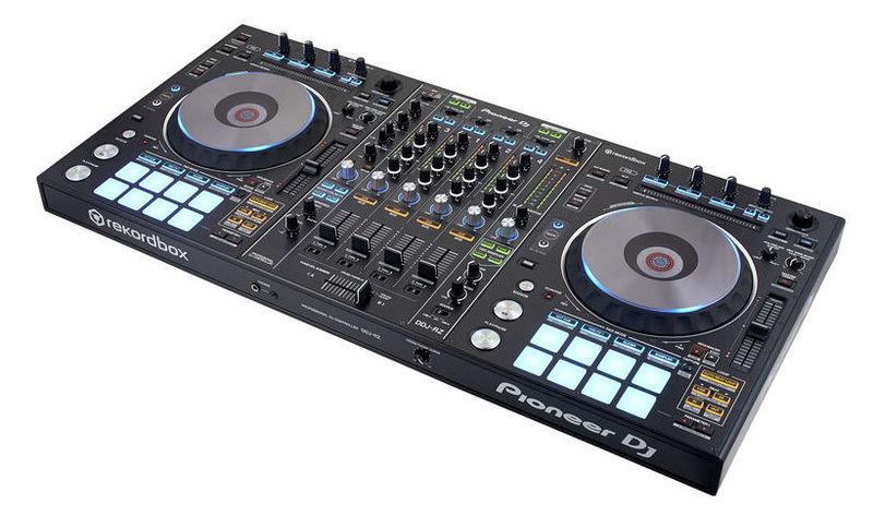 MIDI, Dj контроллер Pioneer DDJ-RZ midi контроллер alesis sample pad