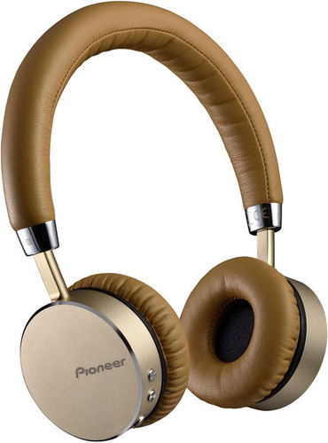 Наушники закрытого типа Pioneer SE-MJ561BT-T Brown pioneer se mj561bt silver