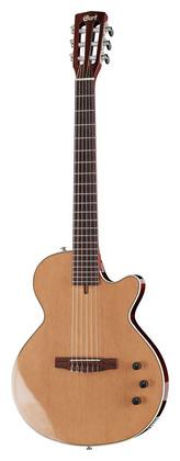 Гитара иной формы Cort Sunset Nylectric NAT электрогитара cort x6 vpr