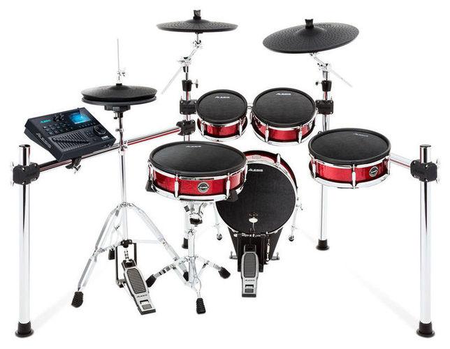 Электронная ударная установка Alesis Strike Pro Kit электронные барабаны alesis samplepad