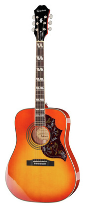 Дредноут Epiphone Hummingbird Pro FCB epiphone pro 1 plus acoustic natural