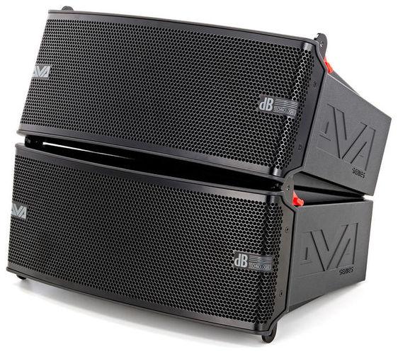 Комплект акустических систем dB Technologies DVA Mini Set M2M + M2S контроллер акустических систем db technologies dsx2040
