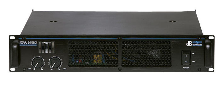 Усилитель мощности до 800 Вт (4 Ом) dB Technologies HPA 1400 профессиональный усилитель мощности eurosound xz 1200