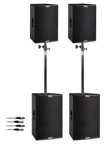 Комплект акустических систем dB Technologies Sigma System 4.6 контроллер акустических систем db technologies dsx2040
