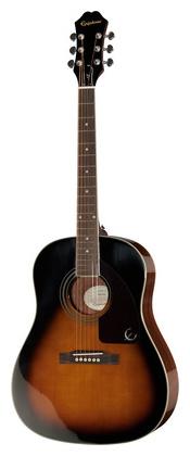Джамбо Epiphone AJ220S VS алиса алиса гитары струны стали гитарной струны акустической гитарной струны струны акустическая гитара 1 6 наборов строк 6 прикреплены 208 l