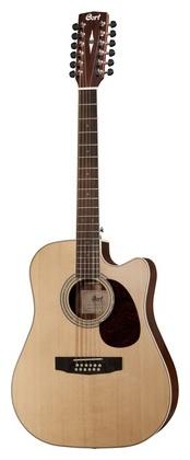12-струнная гитара Cort MR710F-12 NS электрогитара cort x6 vpr
