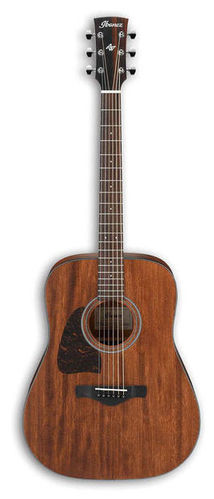 Гитара для левшей Ibanez AW54L-OPN дредноут ibanez aw54 opn