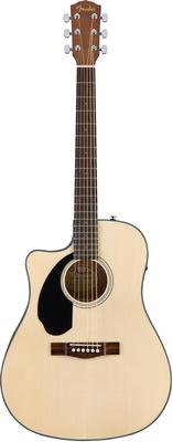 Гитара для левшей Fender CD-60SCE Lh Nat fender cc 60sce nat
