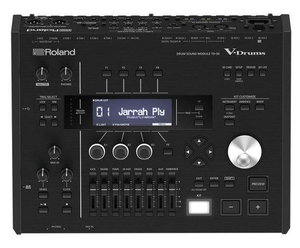 Звуковой модуль для установок Roland TD-50 Drum Module внешний звуковой модуль егерь авзм без кабеля