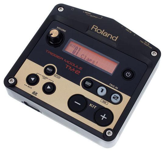 Звуковой модуль для установок Roland TM-2 Trigger Module внешний звуковой модуль егерь авзм без кабеля