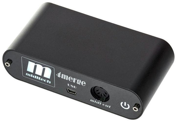 MIDI интерфейс Miditech 4merge USB midi клавиатура 88 клавиш miditech i2 stage 88