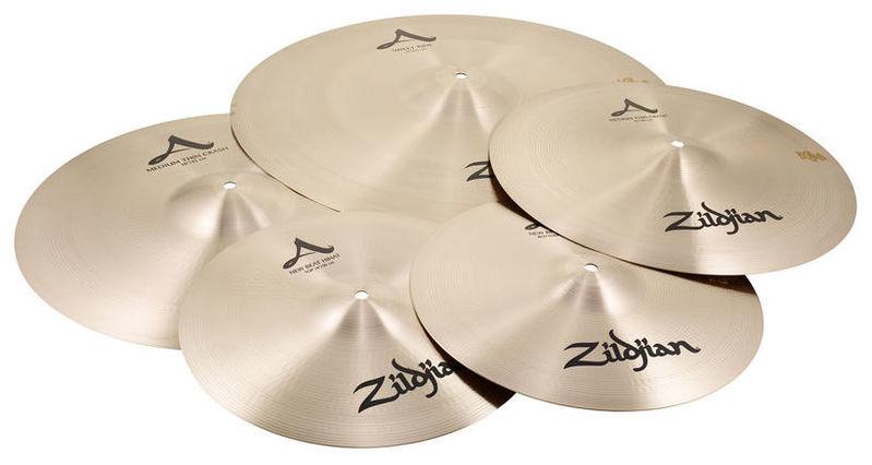 Набор барабанных тарелок Zildjian A-Series Box Set Sweet Ride тарелка хай хэт zultan 14 rock beat hi hat medium