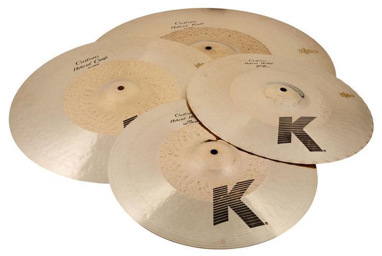 Набор барабанных тарелок Zildjian K Custom Hybrid Cymbal Set zildjian 14 k hi hat