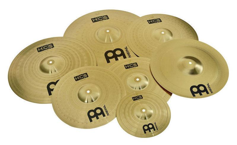 Набор барабанных тарелок Meinl HCS Super Cymbal Set handmade b20 cymbal dragon 16 o zone cymbal