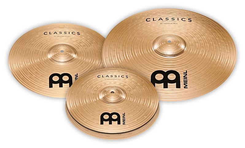 Набор барабанных тарелок Meinl Classics Cymbal Set тарелка хай хэт zultan 14 aja hi hat