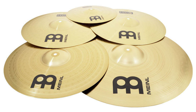 Набор барабанных тарелок Meinl HCS Cymbal Set Standard Plus handmade b20 cymbal dragon 16 o zone cymbal