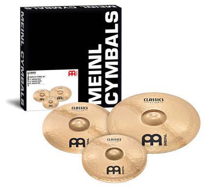 Набор барабанных тарелок Meinl Classics Custom Set тарелка хай хэт zultan 14 aja hi hat