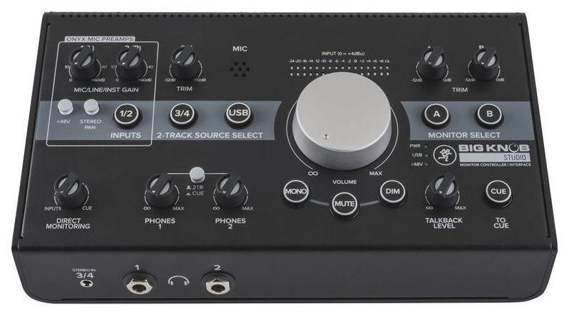 Контроллер, элемент управления Mackie Big Knob Studio контроллер элемент управления contour design shuttle pro v 2