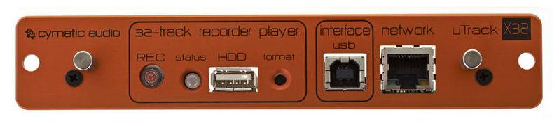 Карта расширения Cymatic Audio uTrack-X32 behringer x32 compact