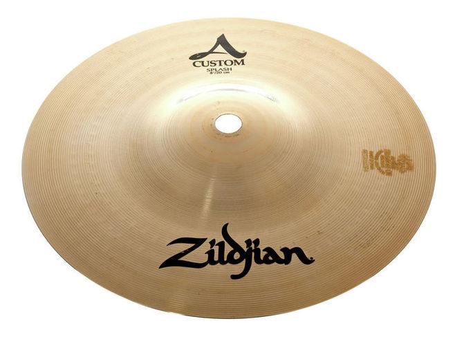 Тарелка сплэш Zildjian 08 A-Custom Splash zildjian 14 a custom hi hat