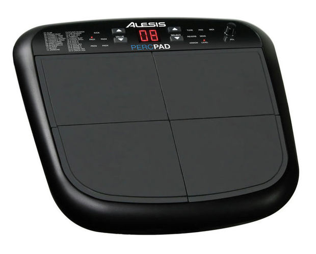 Перкуссия и пэд Alesis PercPad хай хэт и контроллер для электронной ударной установки alesis hi hat controller for dm 10